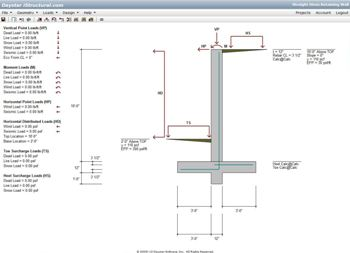 Structural engineering calculation subscription service